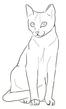 Drawn feline To Step How Draw a