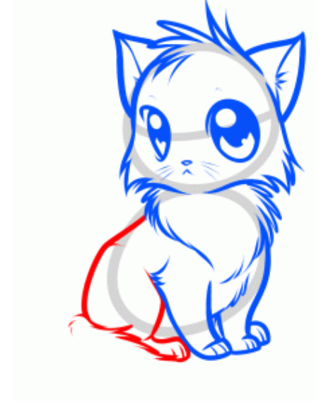 Drawn kitten anime How anime Draw Drawing Drawing