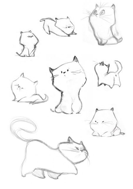 Drawn profile cat And Pinterest les about DrawingDrawing