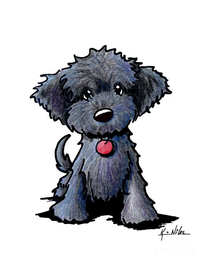 Drawn puppy small dog Black Pinterest Dog Best Doodle