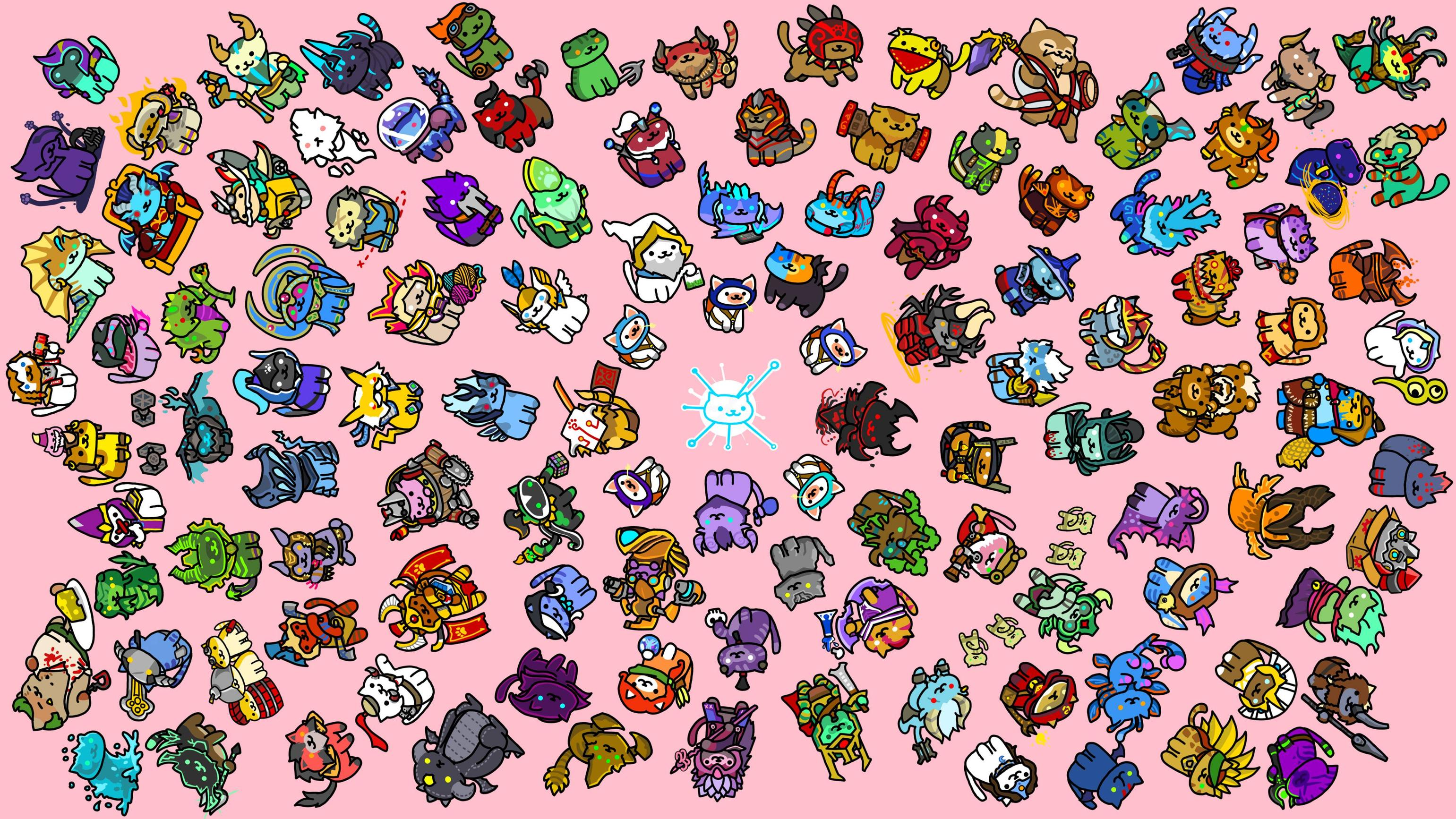 Drawn rodent wallpaper Draw cats and dota :