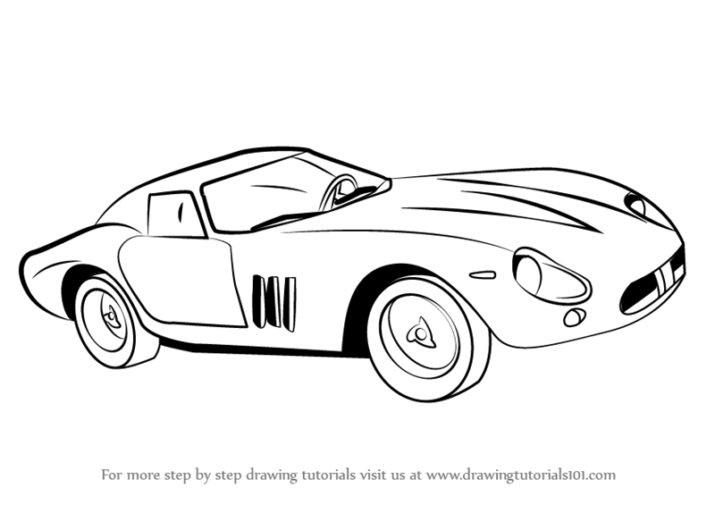 Drawn ferarri easy Drawing For Very 0 Made