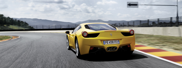 Drawn ferarri italia Driving Experience prepared EN and