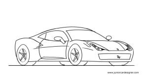 Drawn ferrari A  draw Pinterest Drawing