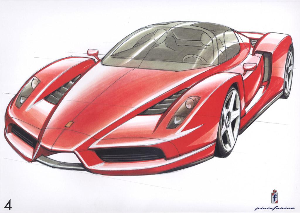 Drawn ferrari Realistic Images Ferrari Art Ferrari