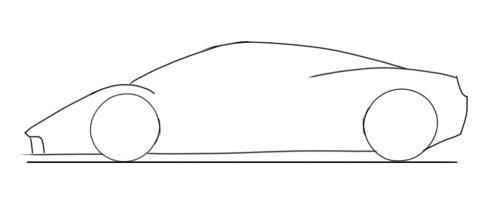 Drawn ferarri easy Ferrari LaFerrai Designer and Car