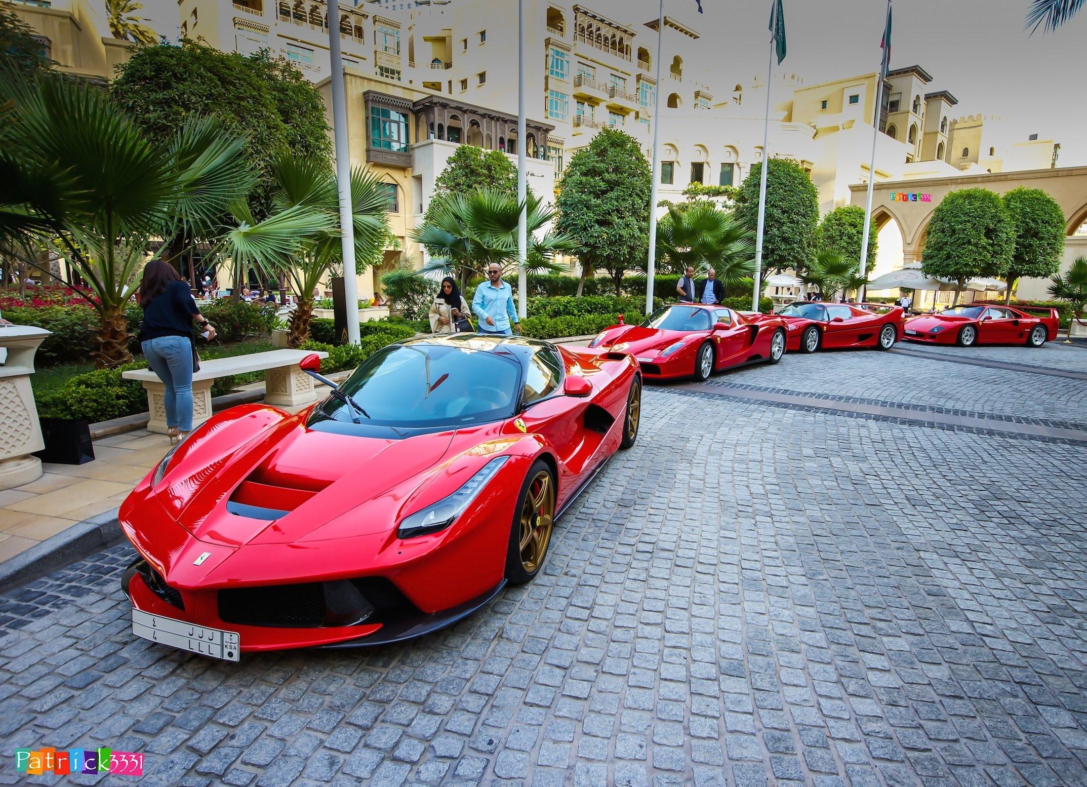 Drawn ferarri epic car + Enzo EPIC up LaFerrari