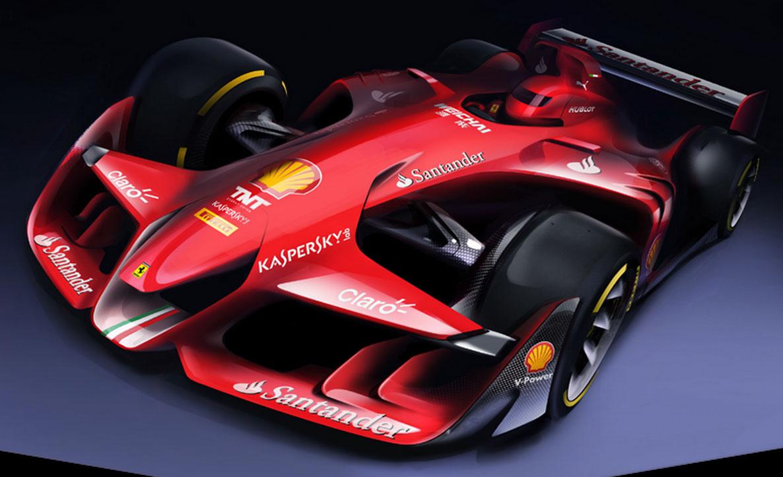 Drawn ferarri epic car Ferrari Fanatic Ferrari car rendering