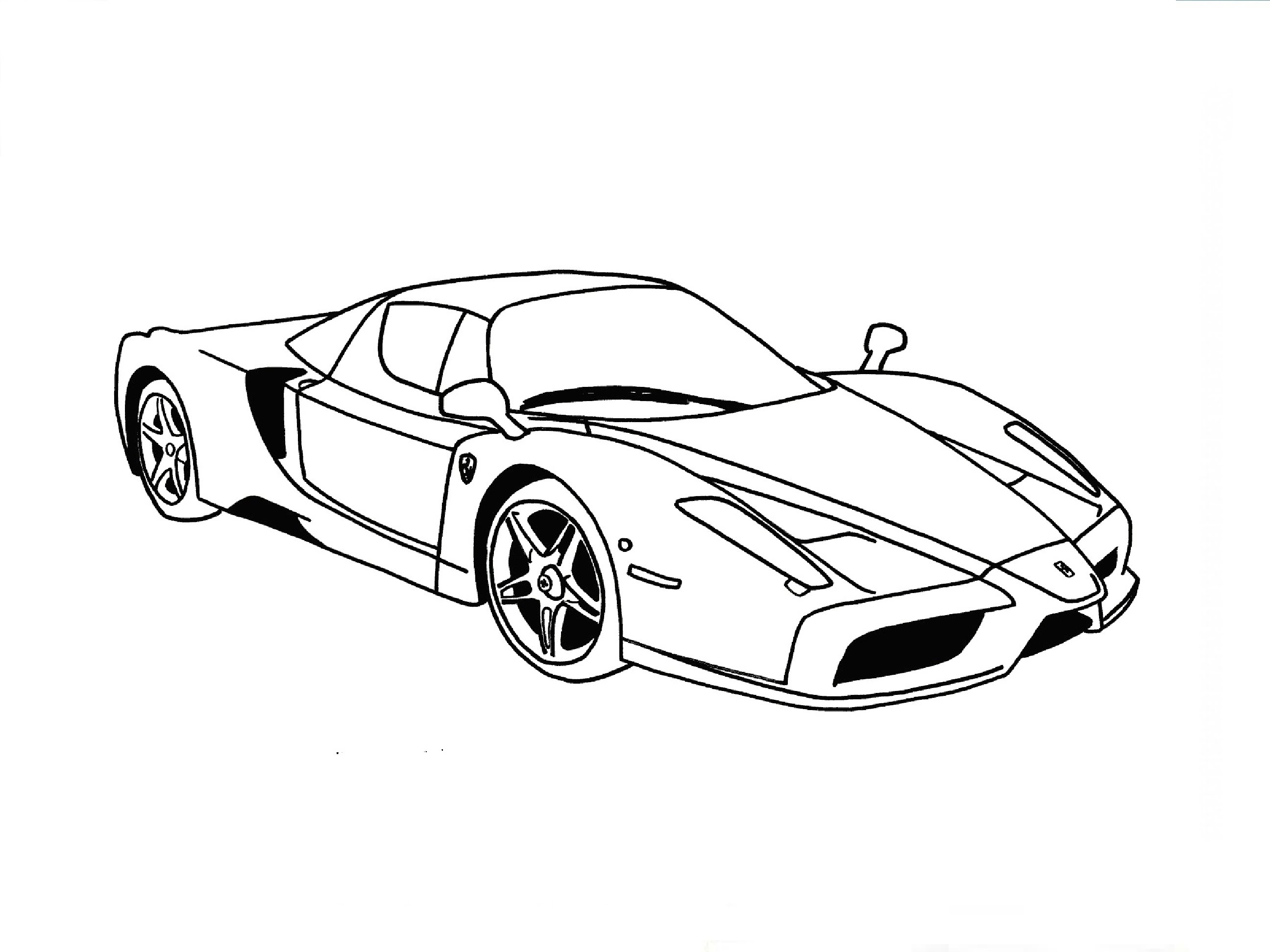 Drawn ferarri easy Энцо drawing: Феррари / Enzo