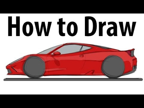 Drawn ferarri italia Sketch 458 How YouTube a