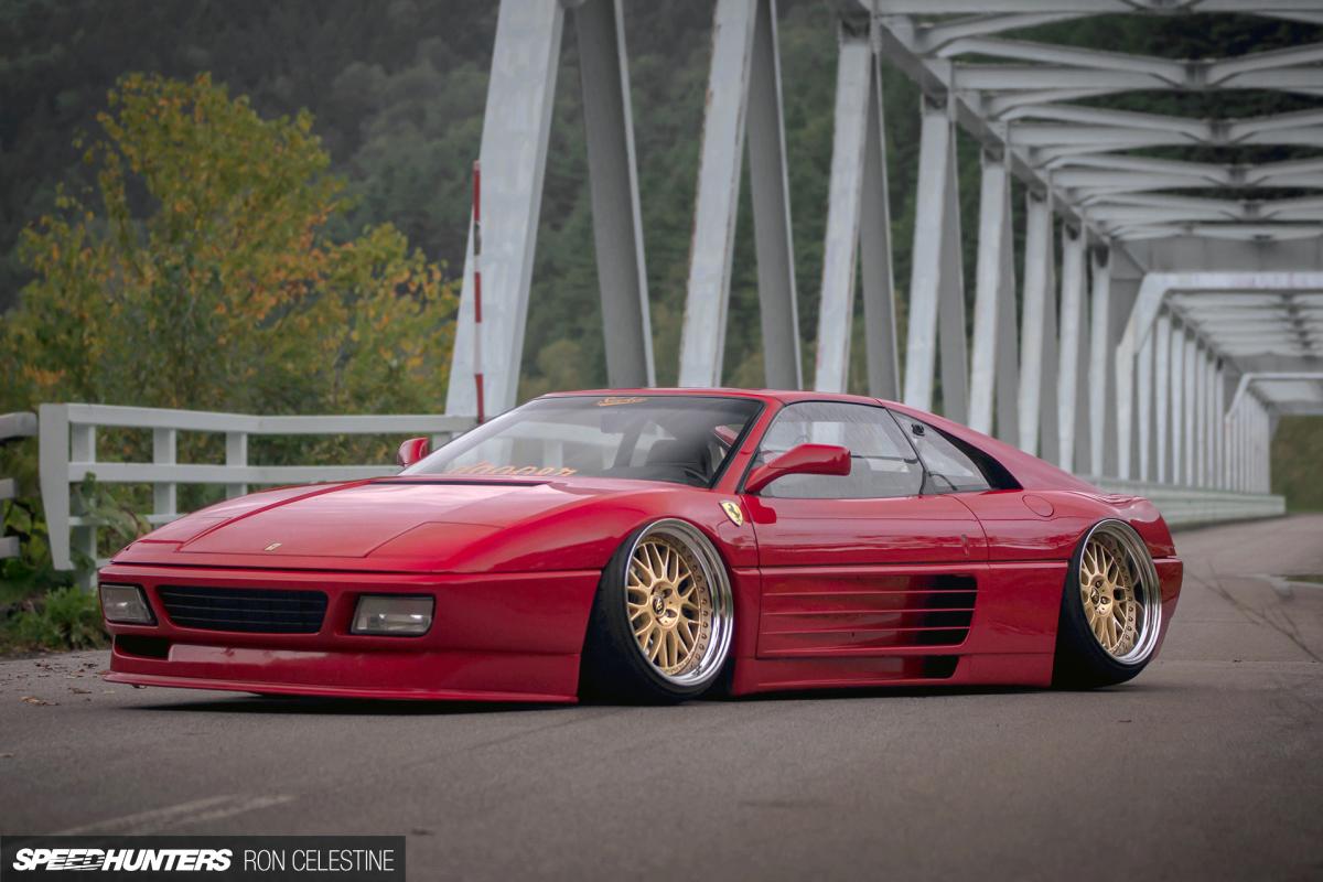 Drawn ferarri stanced car Slam SH_Ginpei_Ferrari_Image A How 28N