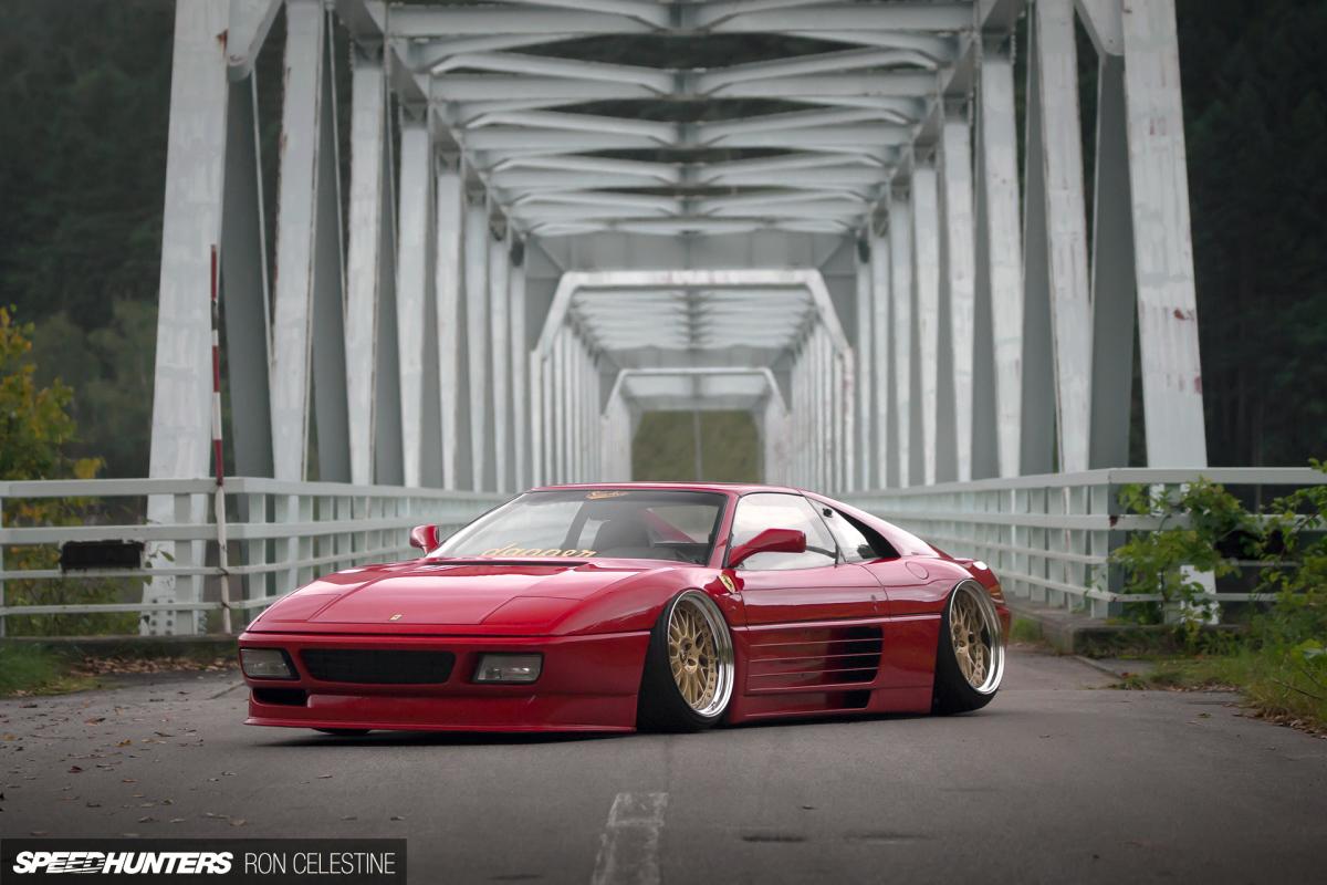 Drawn ferarri stanced car Slam SH_Ginpei_Ferrari_Image A How 4