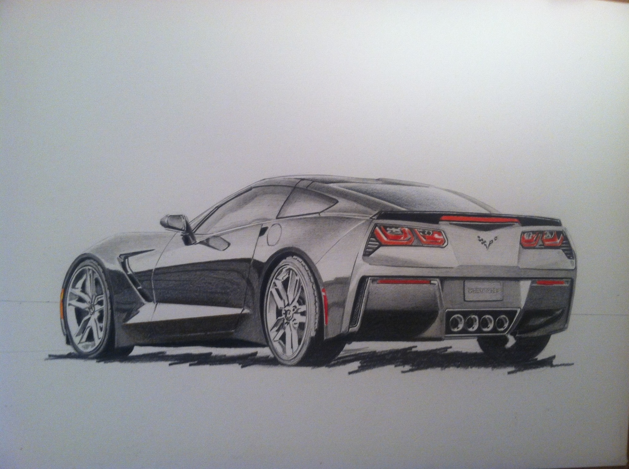 Drawn ferarri wallpaper Made with images drawings Here