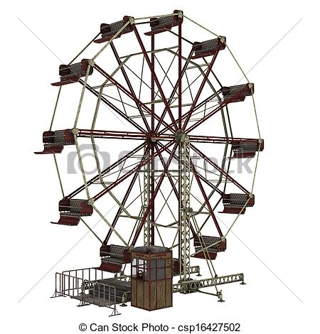 Drawn ferris wheel Wheel   ferris Art