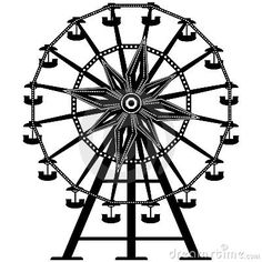 Drawn ferris wheel Wheel Detailed Ferris Let's ferris