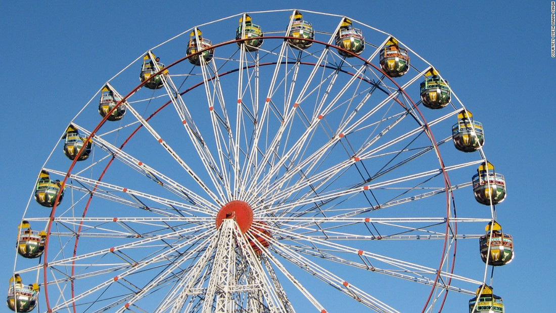 Drawn ferris wheel amusement park rides Of in scariest the rides