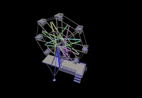 Drawn ferris wheel eli #15