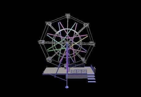Drawn ferris wheel eli #1