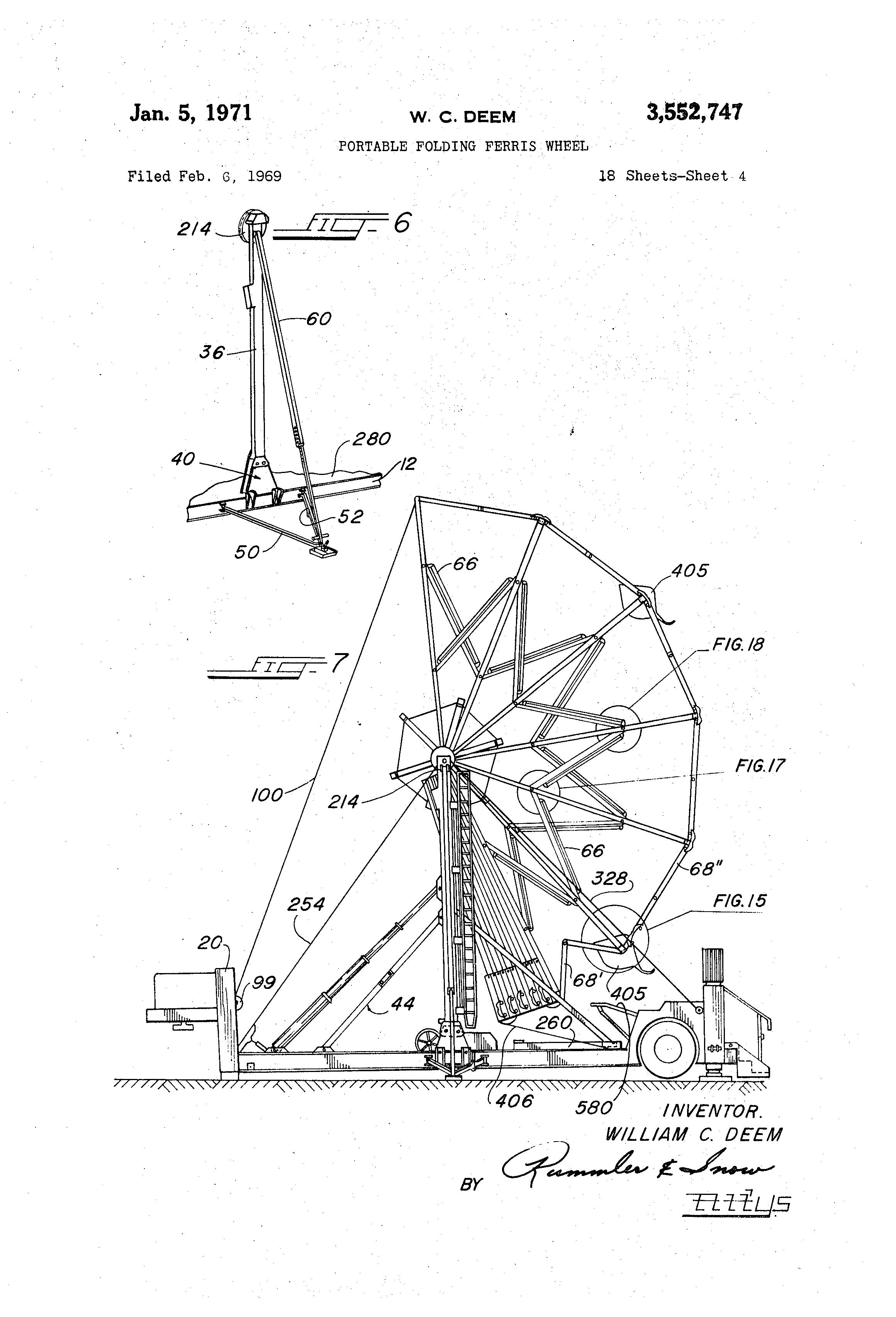 Drawn ferris wheel eli #14