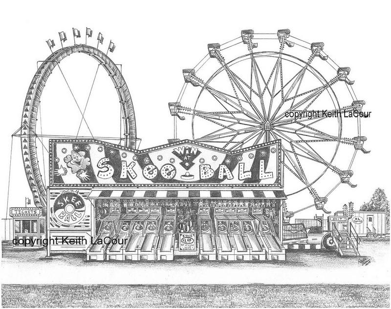 Drawn ferris wheel eli #11