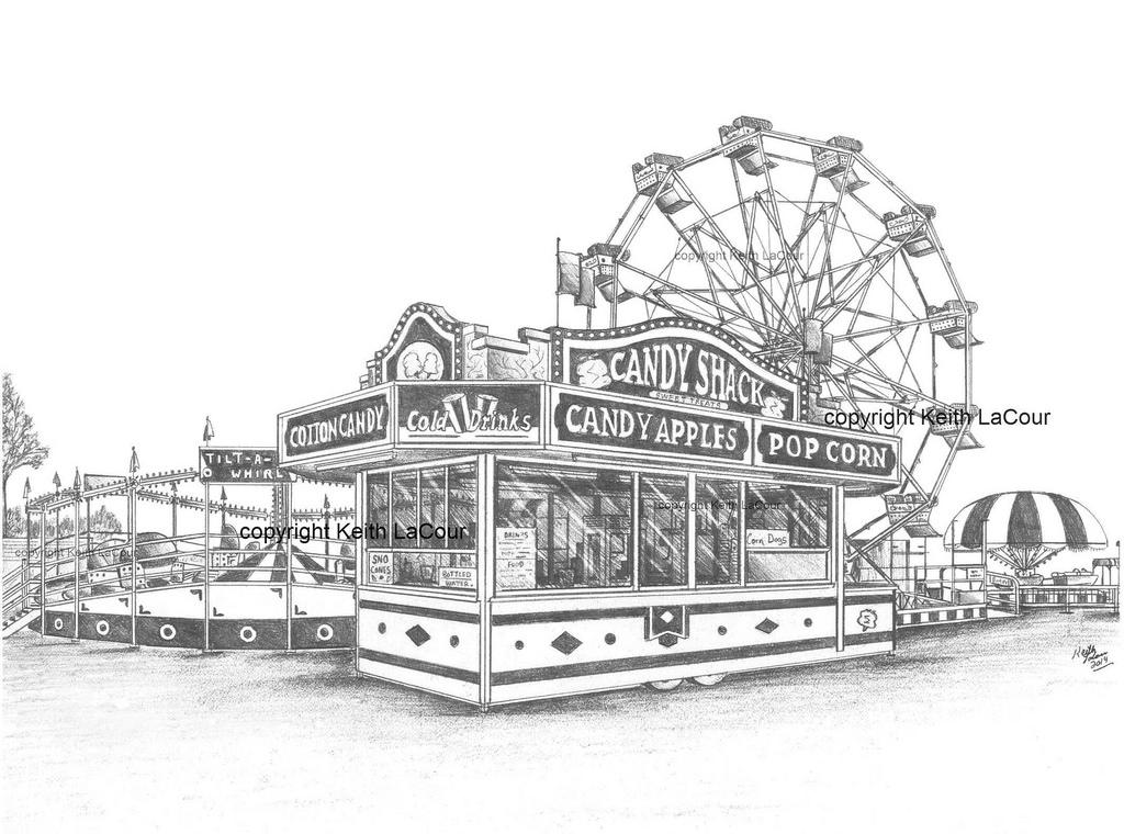 Drawn ferris wheel eli #6