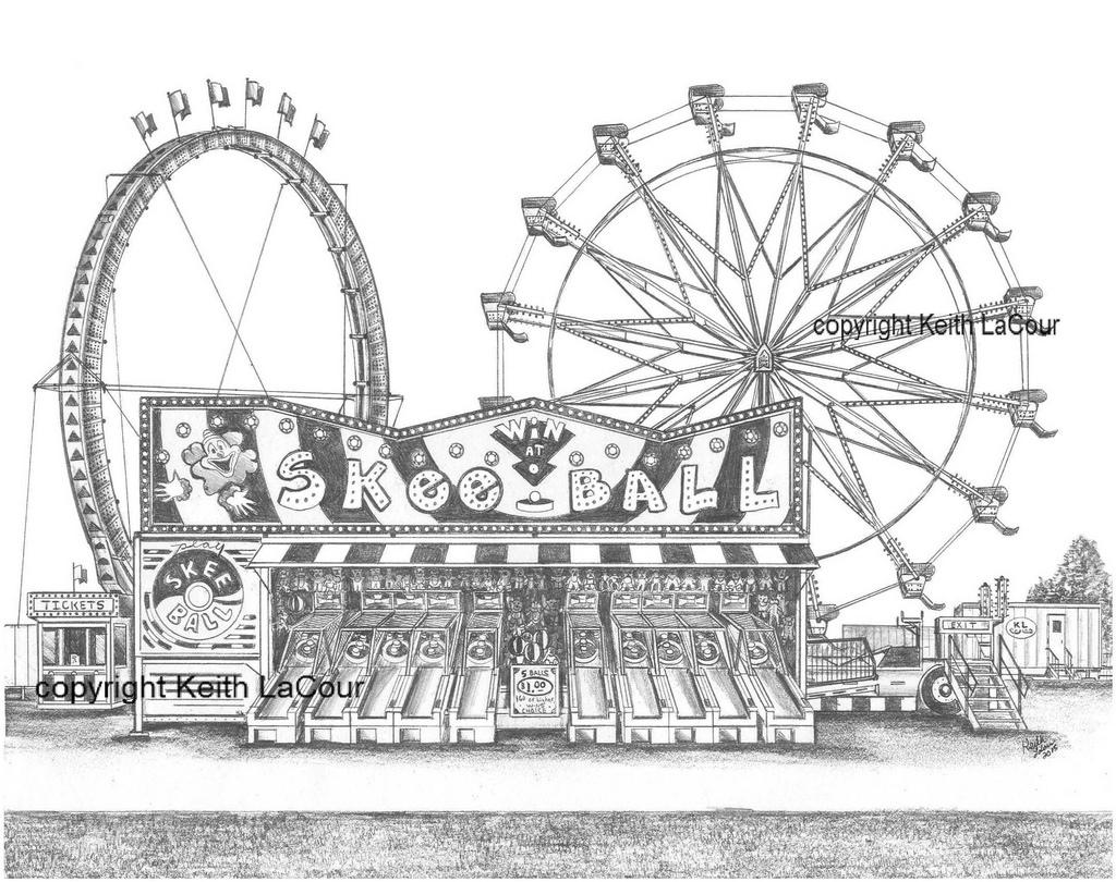 Drawn ferris wheel eli #7