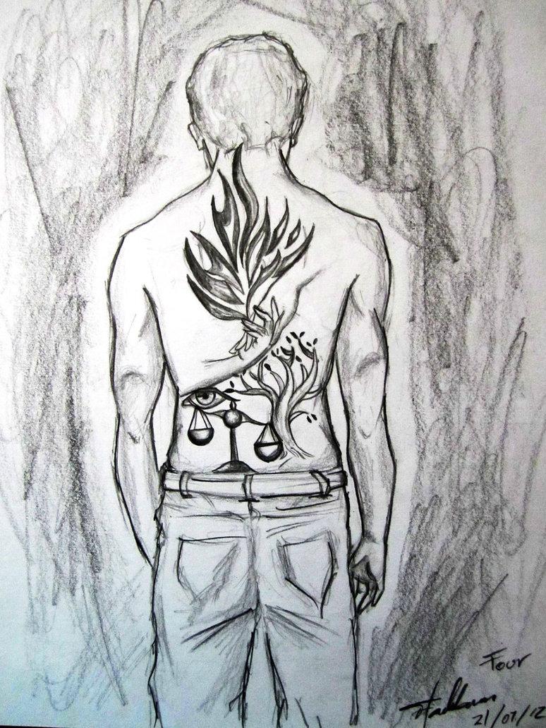 Drawn ferris wheel tobias Tris divergent_by_anawin d5yhlgo teenfictionbooks