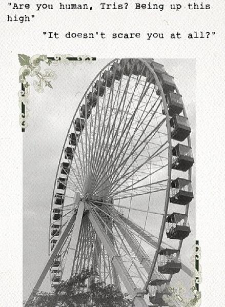 Drawn ferris wheel tobias Tris images ❤ Roth Tobias