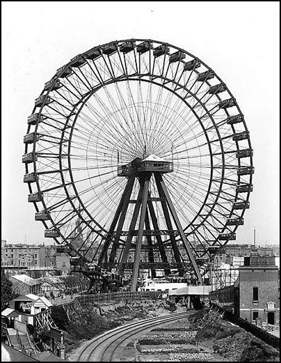 Drawn ferris wheel wheel and axle M world's The Wheel Ferris