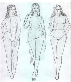Drawn figurine draw Drawing overweight Pinterest Arte big