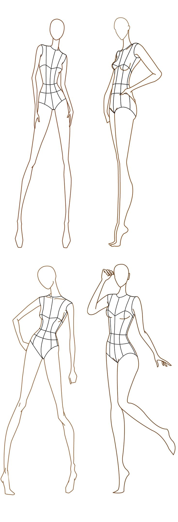 Drawn figurine active Figurine Pinterest illustration template illustration