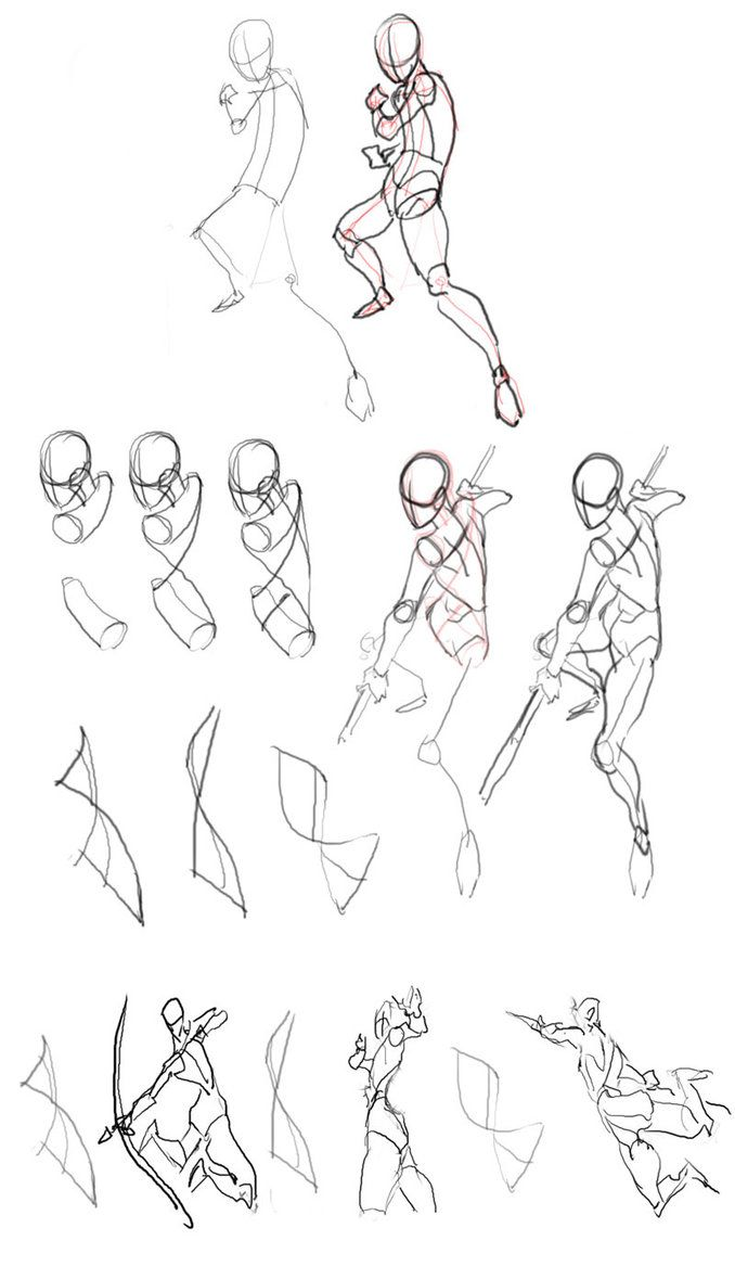 Drawn figurine character Find ideas Body How draw