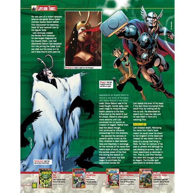 Drawn figurine classic Classic Marvel Marvel Classic Loki