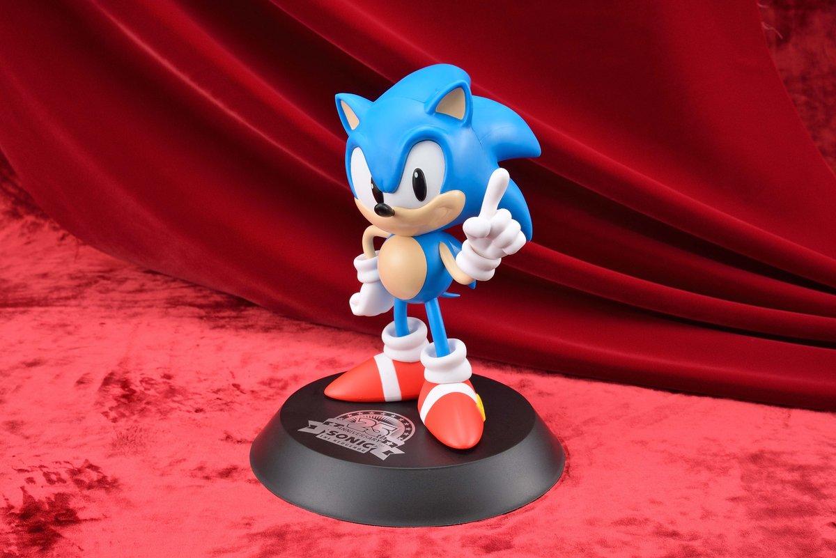 Drawn figurine classic Figurine Stadium – statue Sonic25th