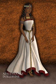 Drawn figurine cleopatra ~ maker created Cleopatra by
