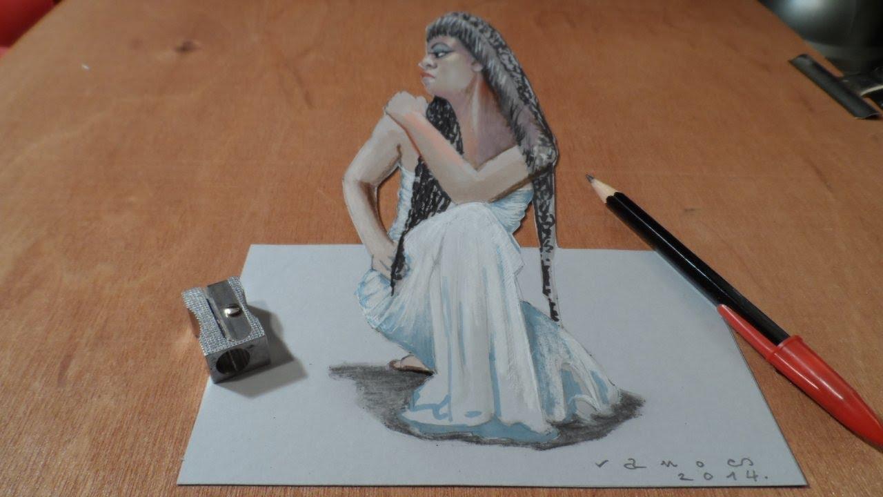 Drawn figurine cleopatra Lapse Cleopatra YouTube Time 3D