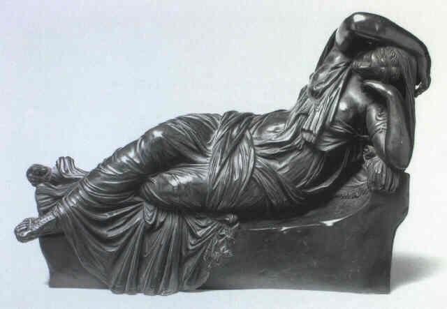 Drawn figurine cleopatra Zoffoli by FIGURE Giovanni on