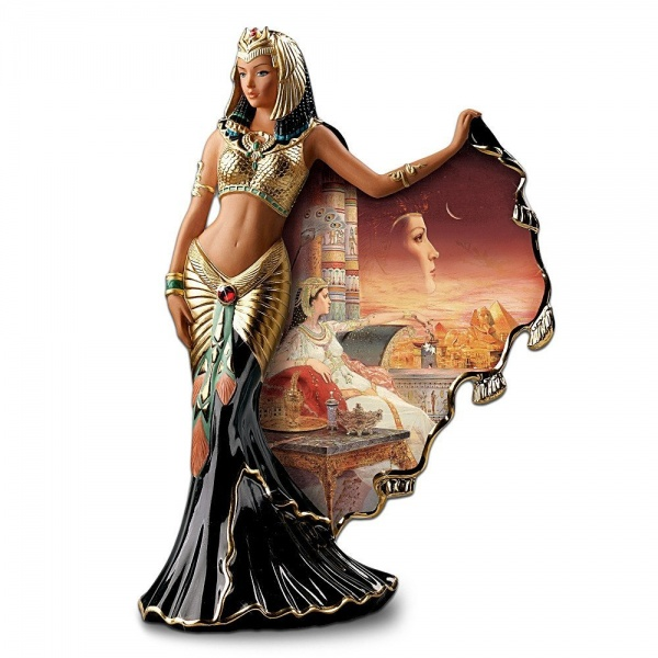 Drawn figurine cleopatra #Trinkets: Decorators Heirloom and Cleopatra