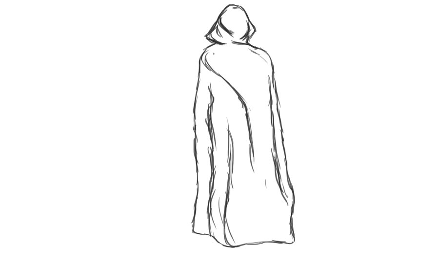 Drawn figurine cloaked Cloaked on romansiii by sketch