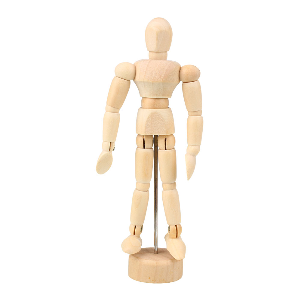 Drawn figurine clothed figure Models Human Decor lots Craft