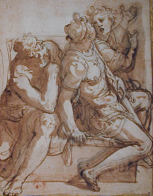 Drawn figurine composition Male Best Anatomy Figures