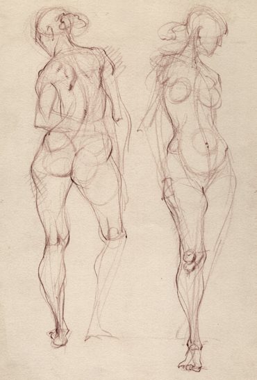 Drawn figurine composition Have These to to and