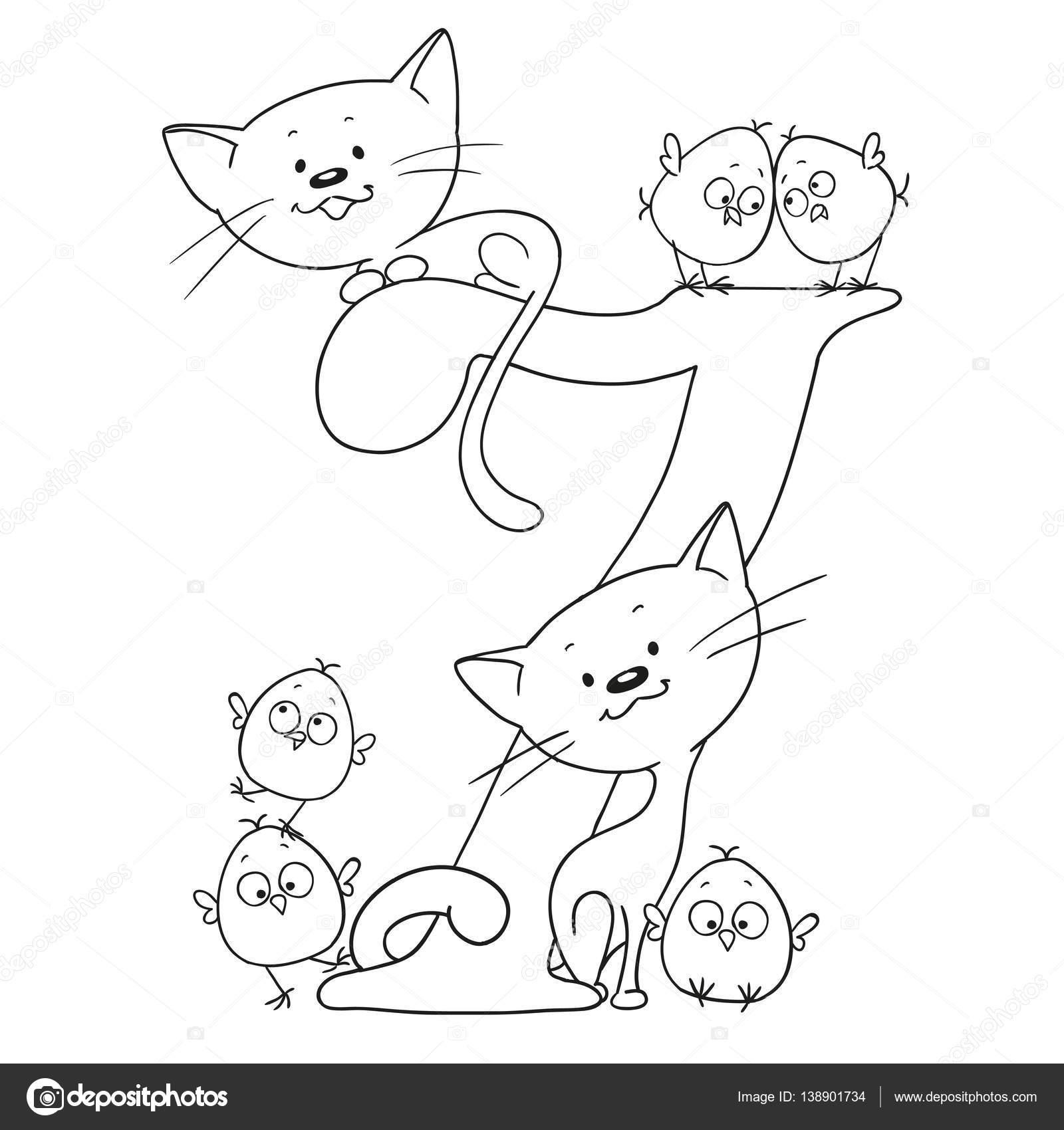 Drawn figurine funny cartoon And background — Cute cartoon