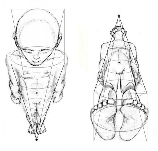 Drawn figurine human being & Drawing Figure: Foreshortening HubPages