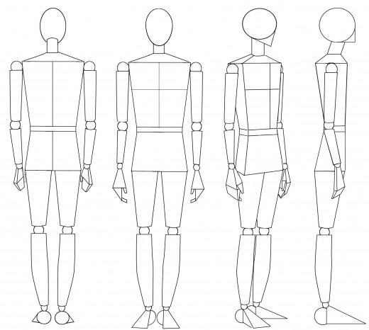 Drawn figurine human being Human The Drawing Manikin the