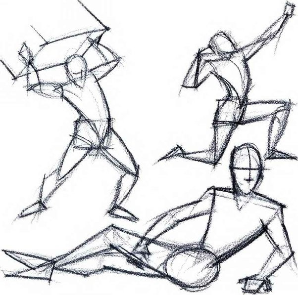 Drawn figurine human body structure Drawing? is are it´s that?