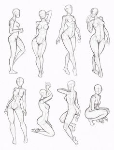 Drawn figurine human reference Positions helpful  Character reference: