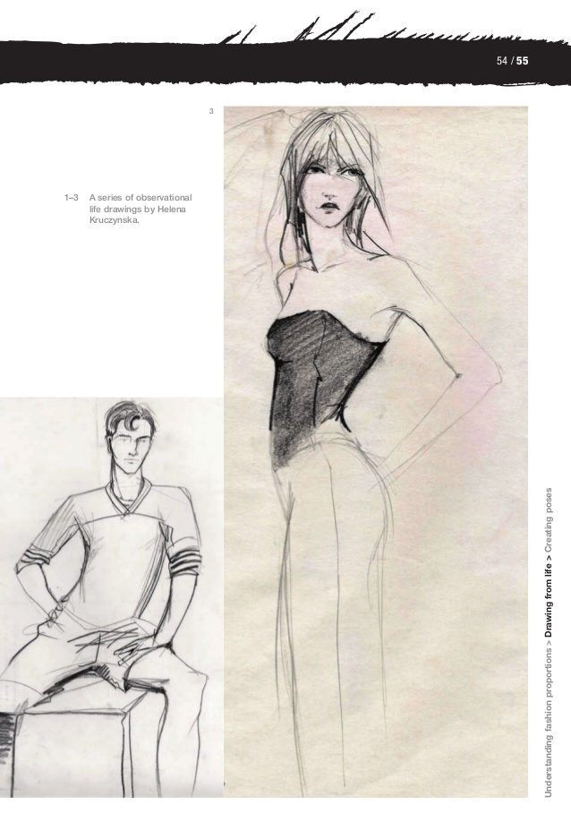 Drawn figurine life 05 Thefashionfigure 21 Fashion design: