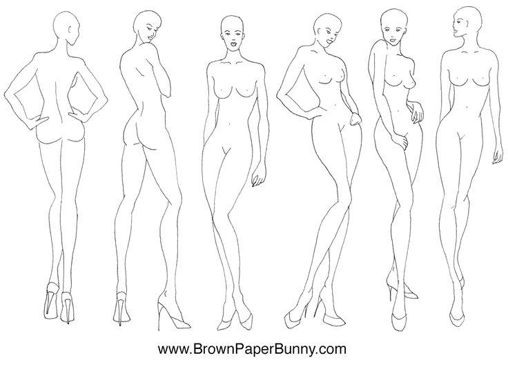 Drawn figurine line quality Fashion · — Fashion 20+