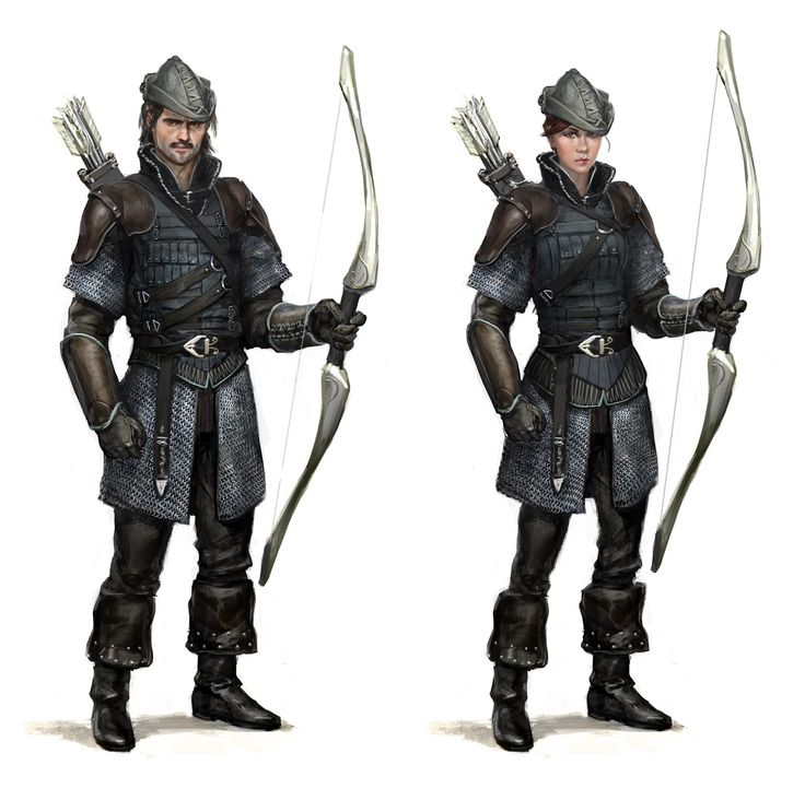 Drawn figurine male archer Pin archer images 145 and